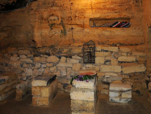 Ukraine Odessa Catacombs Classroom