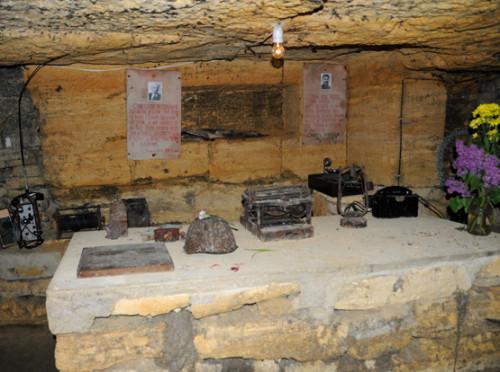 Ukraine Odessa Catacombs Command Center