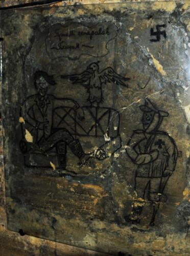 Ukraine Odessa Catacombs Drawing