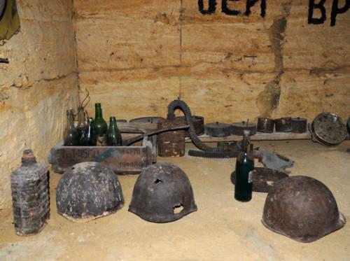 Ukraine Odessa Catacombs Gear
