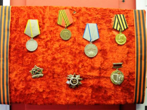 Ukraine Odessa WWII Museum Medals