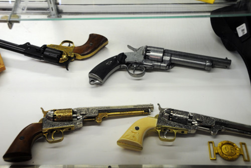 Virginia Natural Bridge Gift Shop Guns