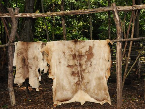 Virginia Natural Bridge Monacan Skins
