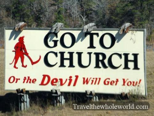 Alabama Go to Church
