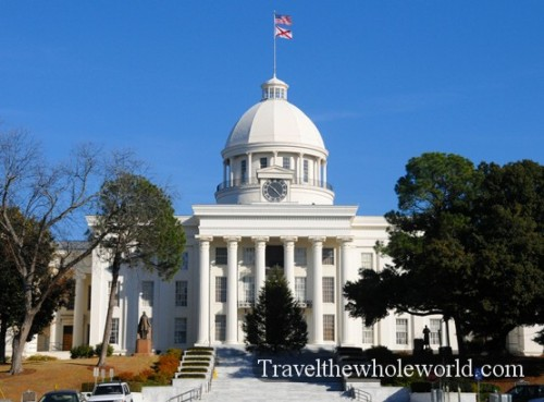 Alabama Montgomery Old Town Capitol Building