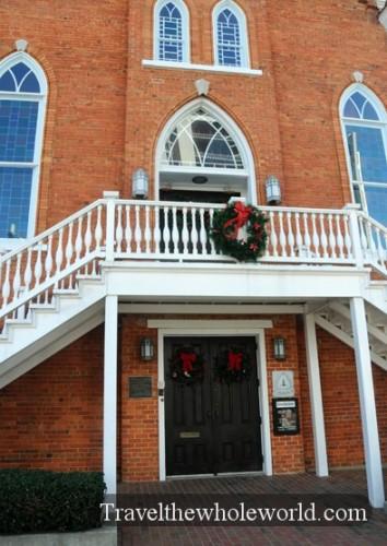 Alabama Montgomery Martin Luther King Memorial Baptist Church