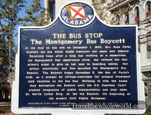 Alabama Montgomery Rosa Parks