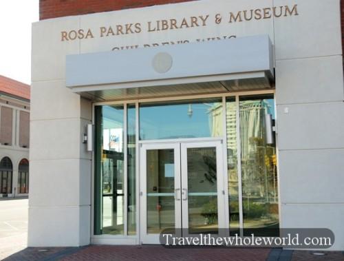 Alabama Montgomery Rosa Parks Museum