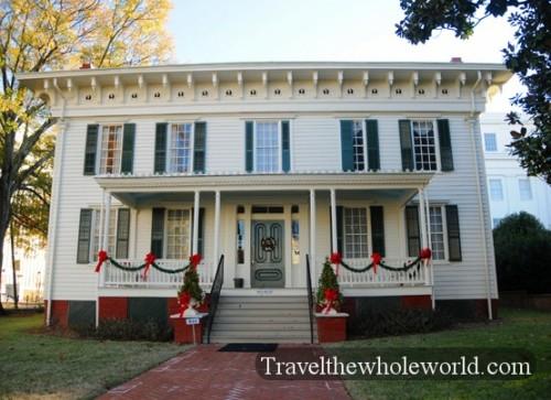 Alabama Montgomery Confederate White House