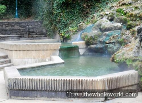 Arkansas Hot Springs Waterfall
