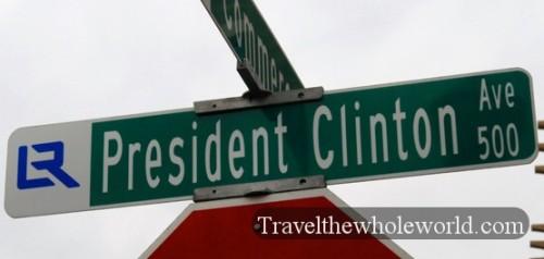 Arkansas Little Rock President Clinton Ave