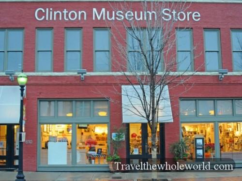 Arkansas Little Rock Clinton Museum