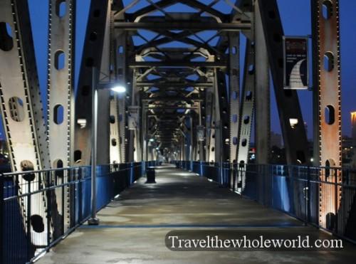 Arkansas Little Rock Foot Bridge