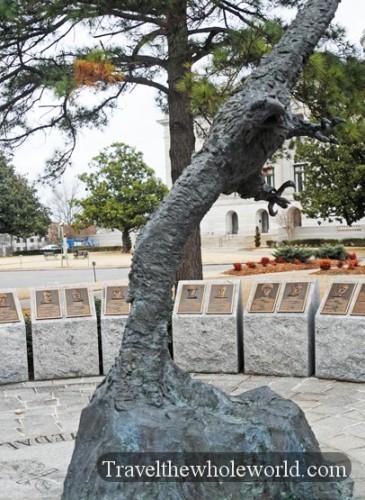 Arkansas Little Rock Medal Honor Memorial