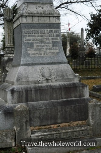 Arkansas Little Rock Mount Holly Cemetery