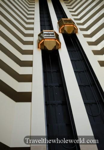 Arkansas Little Rock Peabody Hotel Elevator