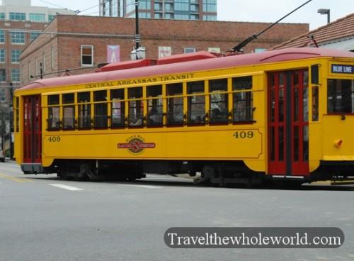 Arkansas Little Rock Trolley