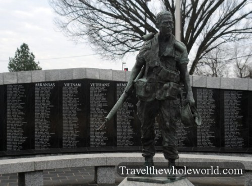 Arkansas Little Rock Vietnam Memorial