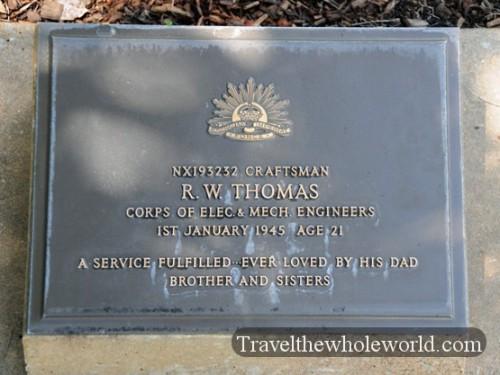 Australia-North-Territory-WWII-Cemetery-Grave