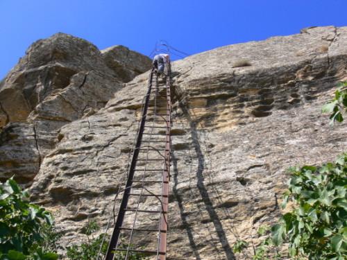 Azerbaijan Gobustan Ladder