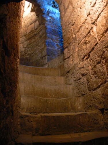Azerbaijan  Maiden Tower Steps