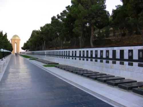 Azerbaijan  Martyrs Lane