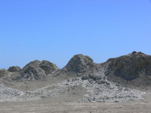 Azerbaijan Mud Volcanos