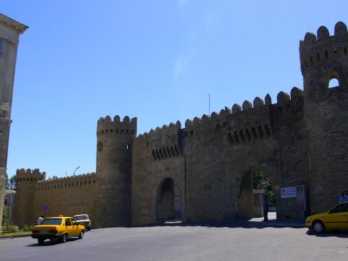 Azerbaijan  Old Baku Wall