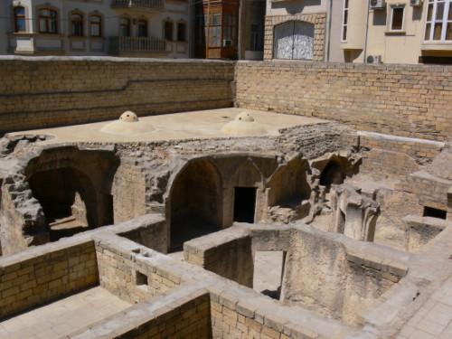 Azerbaijan Old Bath Houses