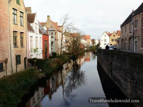 Belgium Bruges Canal