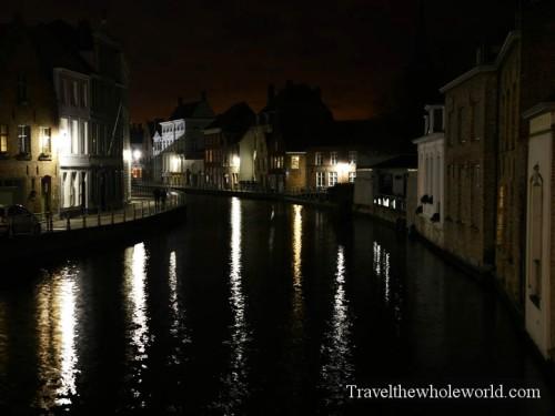 Bruges Canals Night