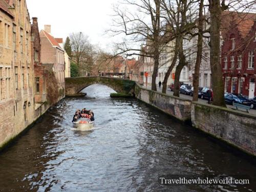 Belgium Bruges Canal Tour