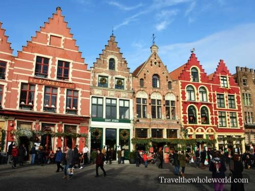 Belgium Bruge Grote Markt