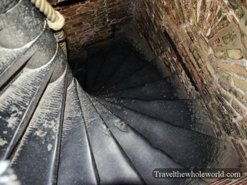 Bruges Grote Markt Belfry Stairs