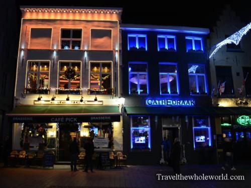 Belgium Bruges Cafe Pub