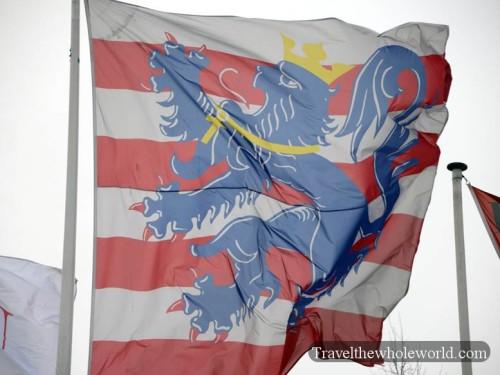 Belgium Bruges Flag