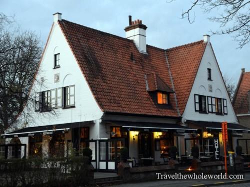 Belgium Bruges Restaurant