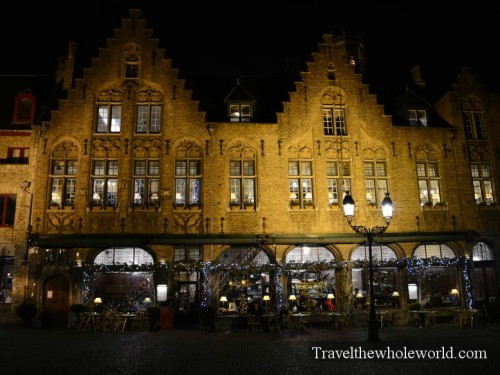 Belgium Bruges Shops