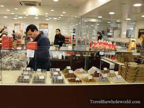 Belgium Brussels Chocolate Store