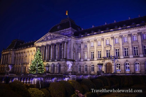 Belgium-Brussels-Koninklijk -Palace
