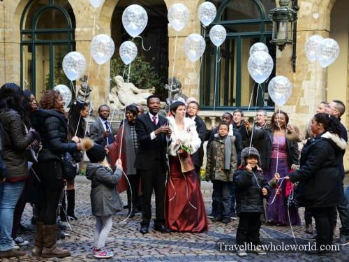 Belgium Brussels Grote Markt Wedding