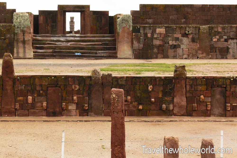Bolivia Entrance Tiwanaku