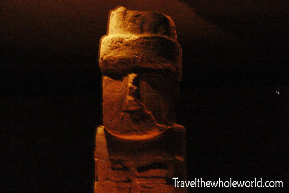 Tiwanaku Largest Statue