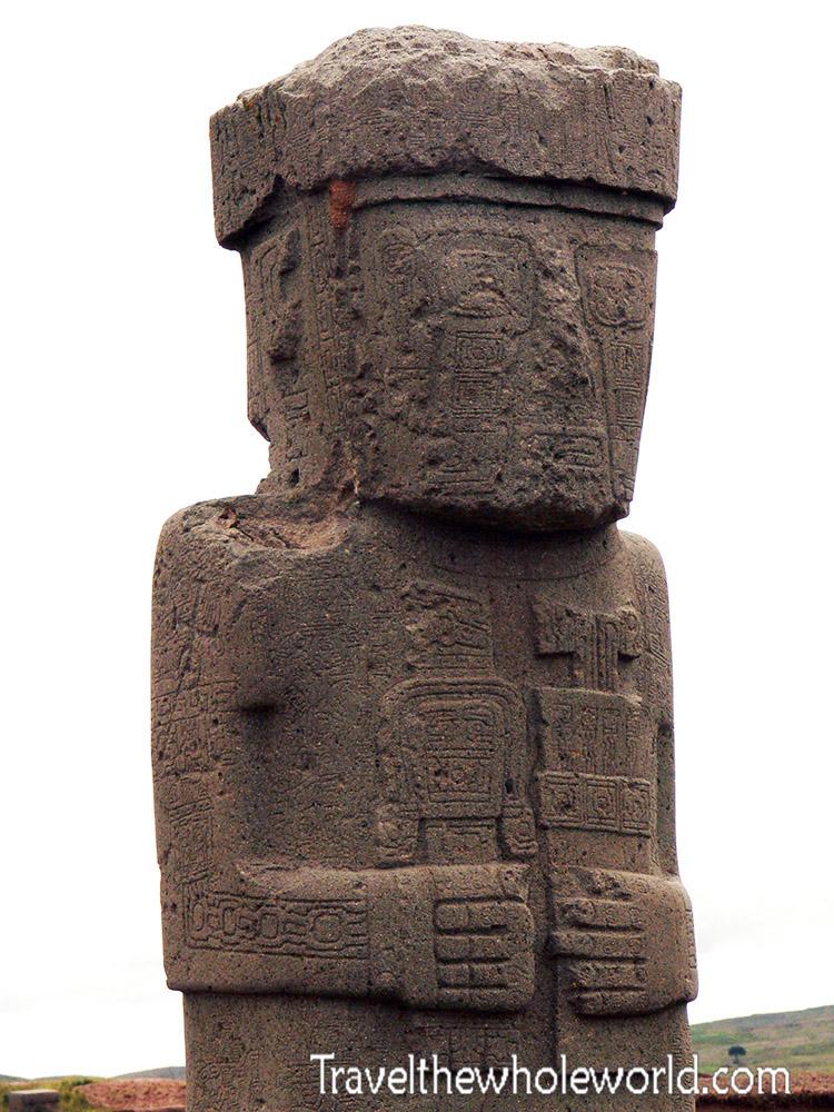 Tiwanaku Statue