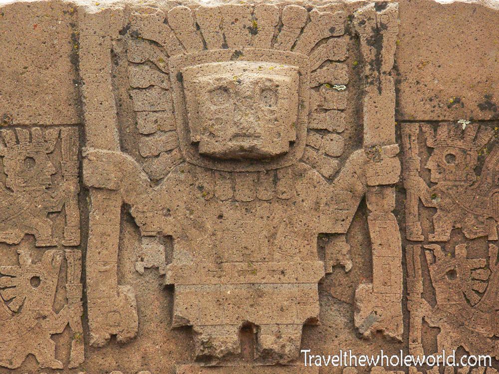 Tiwanaku Viracocha Sun God