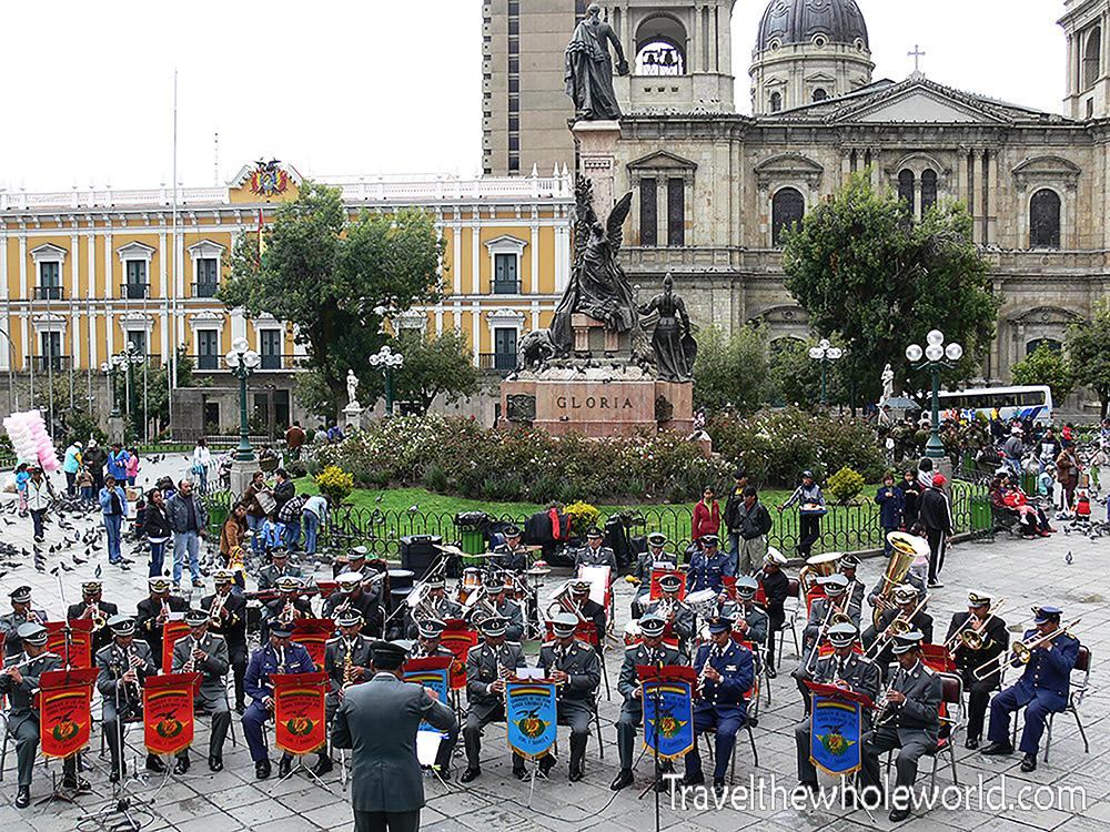 Bolivia City Square Band