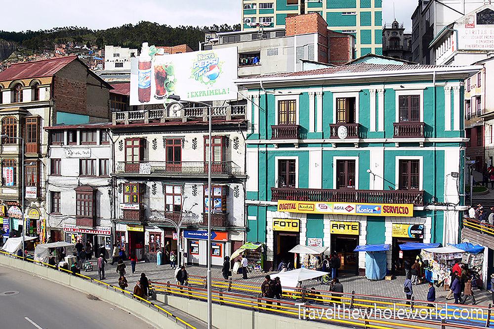 La Paz Bolivia Mainstreet