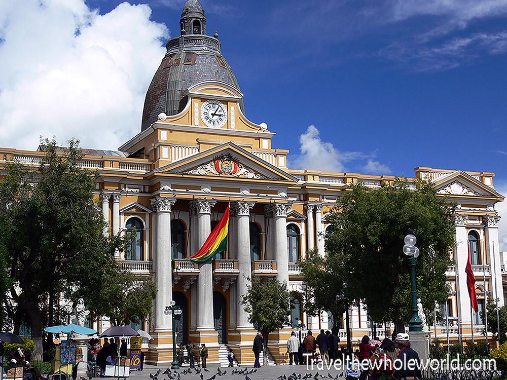 Bolivia La Paz Parliament Building