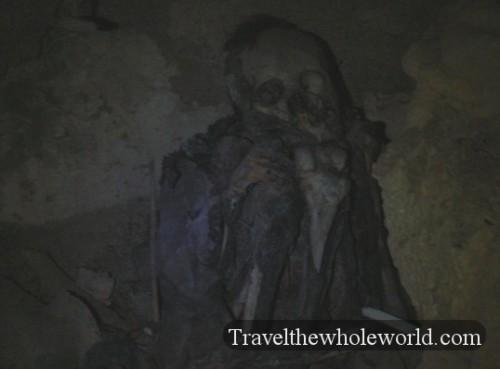 Bolivia Tomb Skeleton