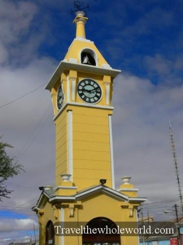 Bolivia Uyuni Clocktowner